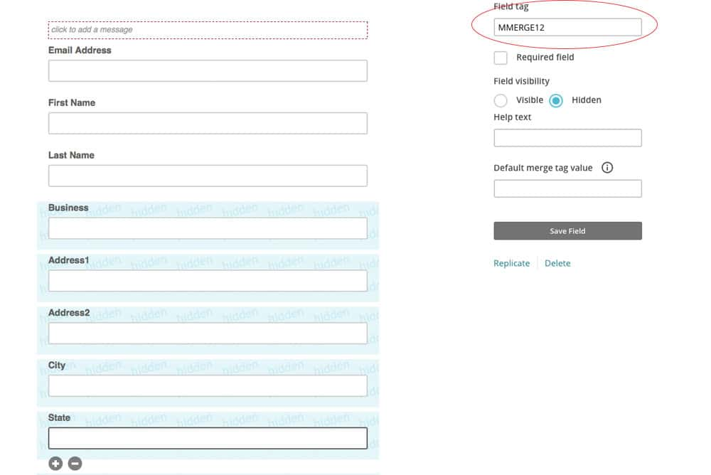 Dynamic Content In Mailchimp How To Use It - Mailchimp template variables