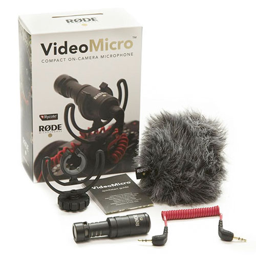 Rode VideoMicro Compact On-Camera Mic